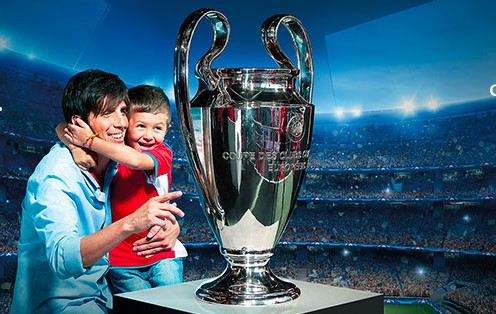 UEFA Champions League Trophy Tour - 01 ottobre 2017